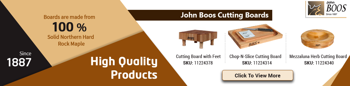 High Quality Solid Cutting Boards from John Boos