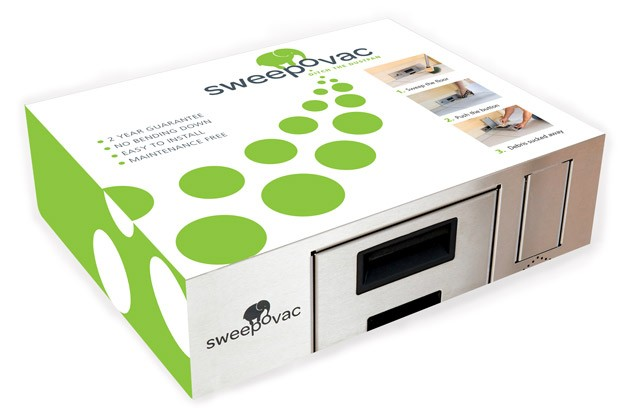 Sweepovac Svs1500 Undercabinet Kitchen Vacuum System Low