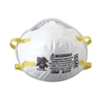3M 51138464573, Dust Mask, Standard Woodworking, Disposable, White