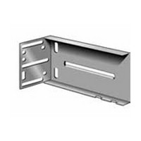 Knape and Vogt KV 8401, Rear Mount Bracket with Extended Rear Flange for KV 8400 Series Drawer Slides