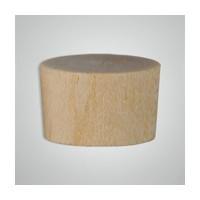 Smith Wood OF0500, Wood Screwhole Plugs, Flat Head, 1/2, Oak, 1,000 Box