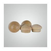 Smith Wood BB0750, Wood Screwhole Plugs, Mushroom Head, 3/4, Birch, 100 Box