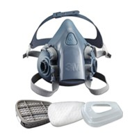 3M 51131527652, Half Piece Respirator, Ultimate, Medium