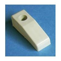 Bainbridge 4605AL-22, 3/4 High Plastic Drawer Bumper, With Reference Tab, Almond