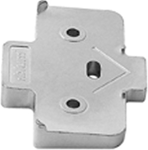 Blum 171A5040 5mm plus 5 Degree Angled Spacer for Wing Plate