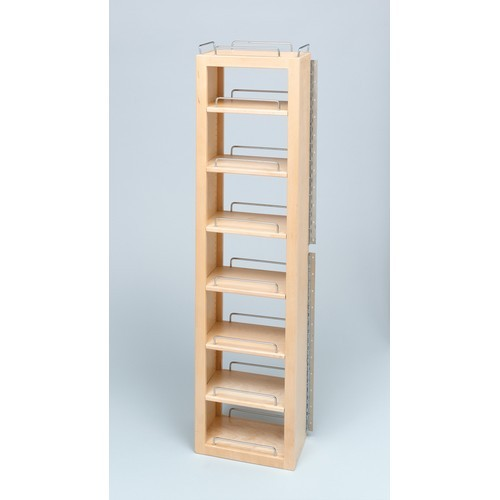 57 Wood Swing Out Pantry Single Unit 12 W X 7 1 2 D X 57 H Woodworker Express