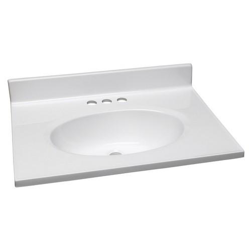 design house 551267 single bowl marble vanity top 25 inch