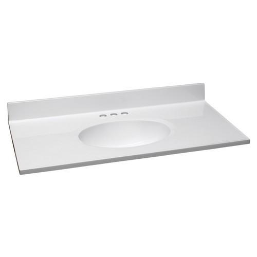 design house 551341 single bowl marble vanity top 37 inch