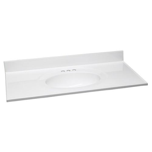 design house 551358 single top marble vanity top 49 inch