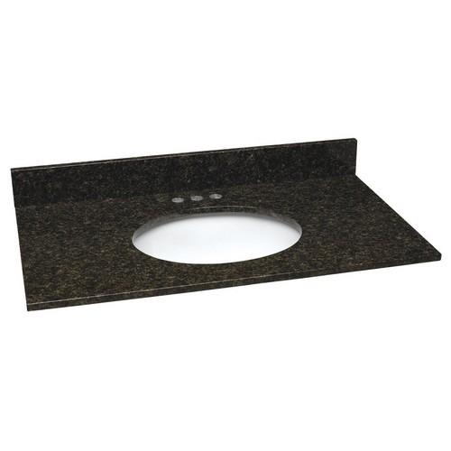design house 552539 single blow granite vanity top 31