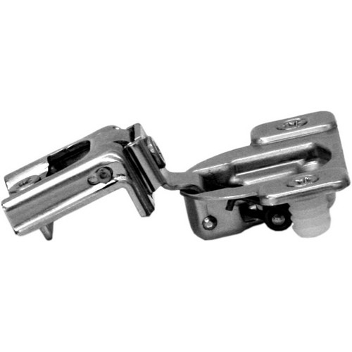 Blum 38C358C-1/4 Compact 38C Face Frame Hinge, Self-Close, 107 Degree, 1-9/16 Overlay, Dowel