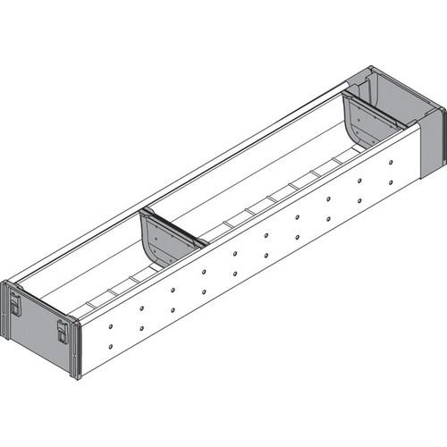 Blum ZHI.533BI1A 4-1/4 W Cutlery Drawer Insert Set - 1-Tier