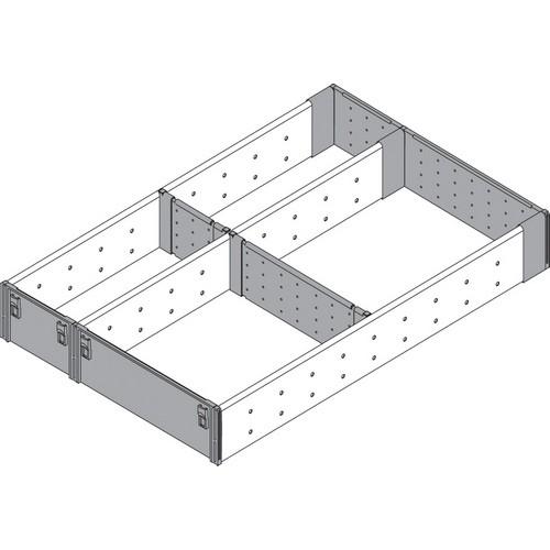 Blum ZHI.533FI3A 11-9/16 W Utensil Drawer Insert Set - 3-Tier