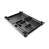 Fulterer FR1560BL, Pencil Drawer Pull-Out, Top Mount Tray, Tray Width 22in