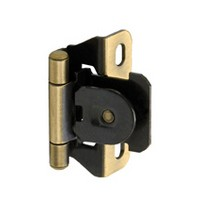 Single Demountable Partial Wrap Self Closing Hinge 1 4