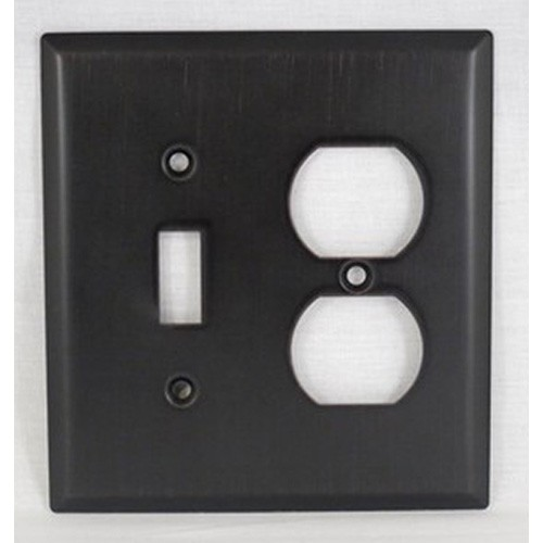 Szbh17 Orb Combo Switch Outlet Plate Oil Rubbed Bronze