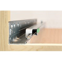 Grass 13031-03 9in Grass Elite Plus, 75lb Soft Close Undermount Full Ext Drawer Slide for 5/8 Drawer Thickness