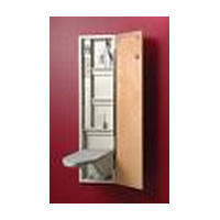 Iron-A-Way A461AU-LH, Ironing Board Cabinet with Hinge on Left Side, Iron-A-Way A-46 Series