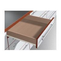 Blum 430E2500 10in Blum STANDARD 430E Epoxy Drawer Slide, Cream