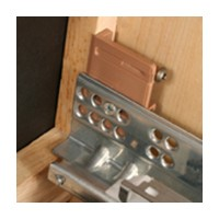 Tenn-Tex B-394, Universal Inset Drawer Bracket for undermount Drawer Slides