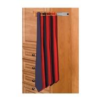 Rev-A-Shelf CWSTR-12-1-10 Bulk-10, 12in Side Mount Wood Tie Rack, Natural