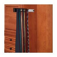 Rev-A-Shelf CWSTR-14B-1-10 Bulk-10, 14in Side Mount Wood Tie Rack, Black