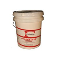 Choice Brands F-716Y-05, 5 Gallon Formica Golden Wood Glue, Exterior