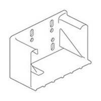 Blum 295.3700.22 Rear Socket for 9in Blum TANDEM Undermount Drawer Slide, Inside Cabinet Depth 11-5/32 - 11-25/32in