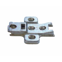 Grass 10763-21 4.3mm Wing Plate, Screw-on