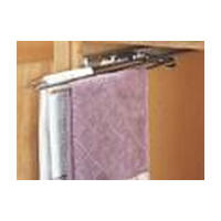Rev-A-Shelf 563-47 C, 5 W Chrome Wire 3-Prong Towel Bar Pull-Out