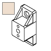 Bainbridge 3601AL-52, 3/4 Drawer Slide Spacer, Almond