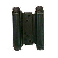 Bommer 3029-6-601, 6in Gate/Spring Hinges, Double Acting, for 1-1/4 - 1-3/4 Thick Doors, Black