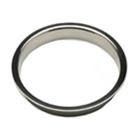 Mockett TM1-PSS, Round Stainless Steel 1-Piece, Trash Grommet, Bore Hole: 6in Dia, Polished Stainless Steel