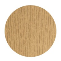 FastCap FC.MB.916.NO Peel and Stick PVC Covercap, Woodgrain PVC, 9/16 Dia, Natural Oak, Box 260