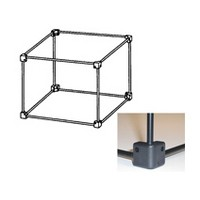 Fulterer FR1803BL, Cross Bar for Hanging Folder File Systems, Black