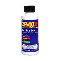 FastCap 2P-10 ACT 2 OZ 2P10 Instant Wood Adhesive, Two Part, Activator, 2 oz. bottle