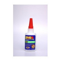FastCap 2P-10 JEL 2 OZ 2P10 Instant Wood Adhesive, Two Part, Jel Adhesive, 2 oz. bottle