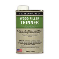 Eclectic Products 730021, Wood Filler, Famowood Thinner, 1 Pint