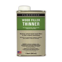 Eclectic Products 730011, Wood Filler, Famowood Thinner, 1 Quart