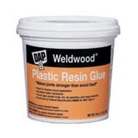 DAP 203, Plastic Resin Glue, Weldwood, Tan, 1lb
