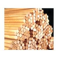 Excel Dowel DR-3848-R, Dowel Rod, Unfinished New England Hardwood, 3/8 x 48in