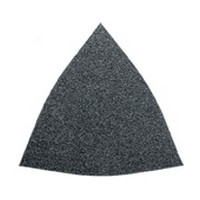 Fein 63717083015, Abrasive Triangle, Aluminium Oxide on Paper, 3-1/8 Hook and Loop, 80 Grit