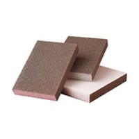 3M 51115006319, Sanding Sponges, Aluminum Oxide, 3 Sided Block, Fine Grit, Bulk Packed