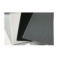 Meier 161-19RL-BLK, 19-3/4 Non-Slip Mat Roll, Modern Line Series, Black, Roll Size 19-3/4 x 393in