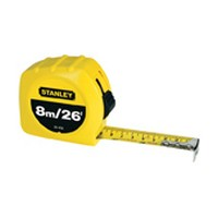 Black and Decker 30-456, Tape Measure, 26ft Standard/Metric Read, 1 Wide Blade, Economy