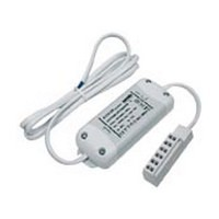WW Preferred 15 Watt, 12 Volt Dimmable Driver with 6-Port AMP Terminal Block for Pro LED Series Lights, White