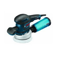 Bosch ROS65VC-5, Sander, 5in 8-Hole and 6in 6-Hole Hook and Loop, Non-Vacuum, 3.3 Amps, 5,500 – 12,000 RPM, 3/32 Orbit