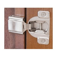 Blum 38N355C.10 COMPACT 38N Hinge, 5/8 Overlay, Screw-on