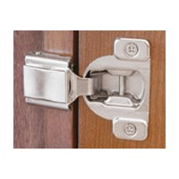 Blum 38C358C-1/4 COMPACT 38C Face Frame Hinge, 1-9/16 Overlay, Dowel
