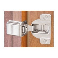 Blum 39C358C-1/4 COMPACT 39C Face Frame Hinge, 1-9/16 Overlay, Dowel